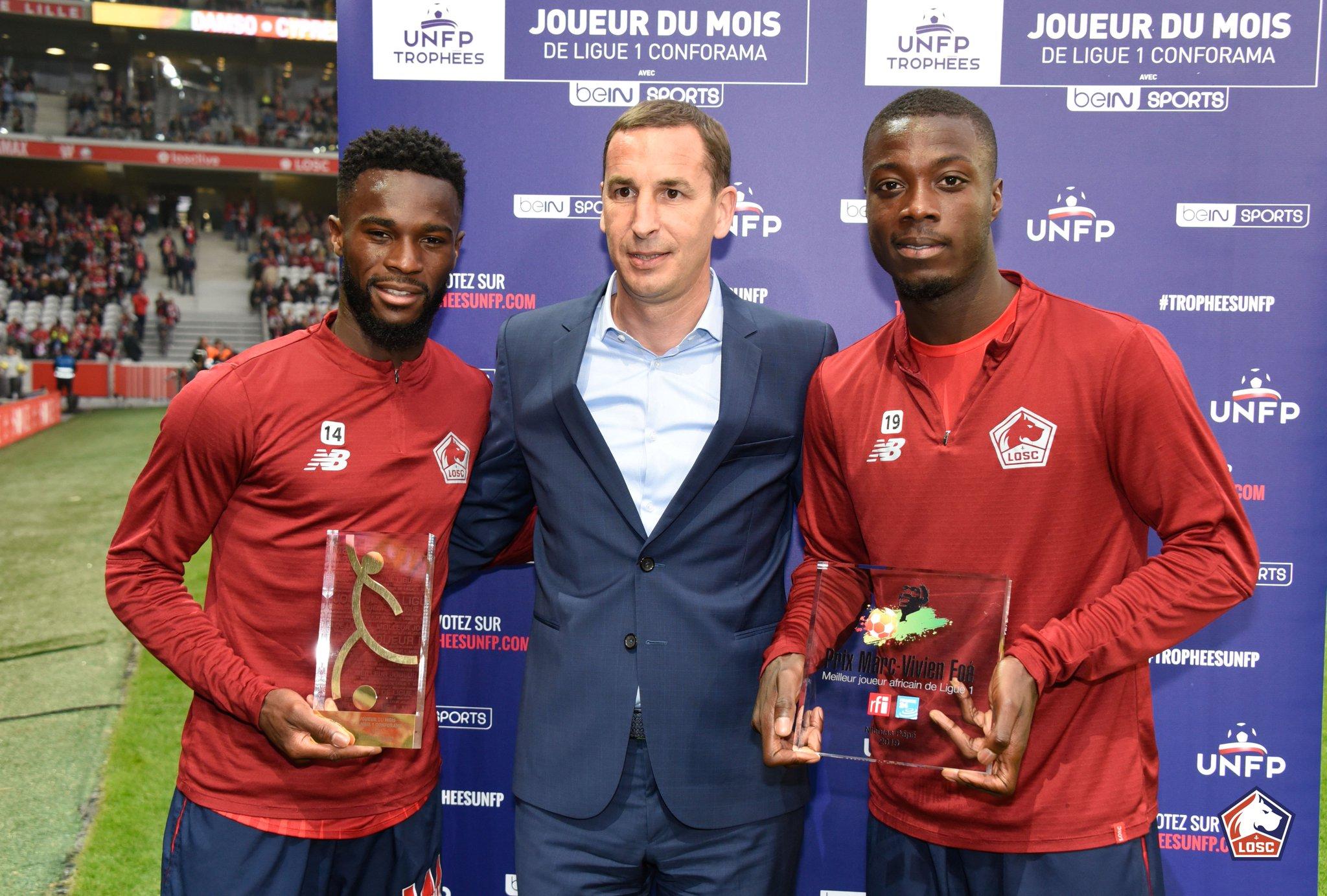 Football,Nicolas Pépé,Prix Marc Vivian Foé
