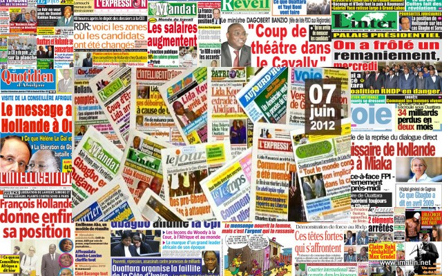 Revue de presse,Soro Guillaume,Grève dans l'enseignement