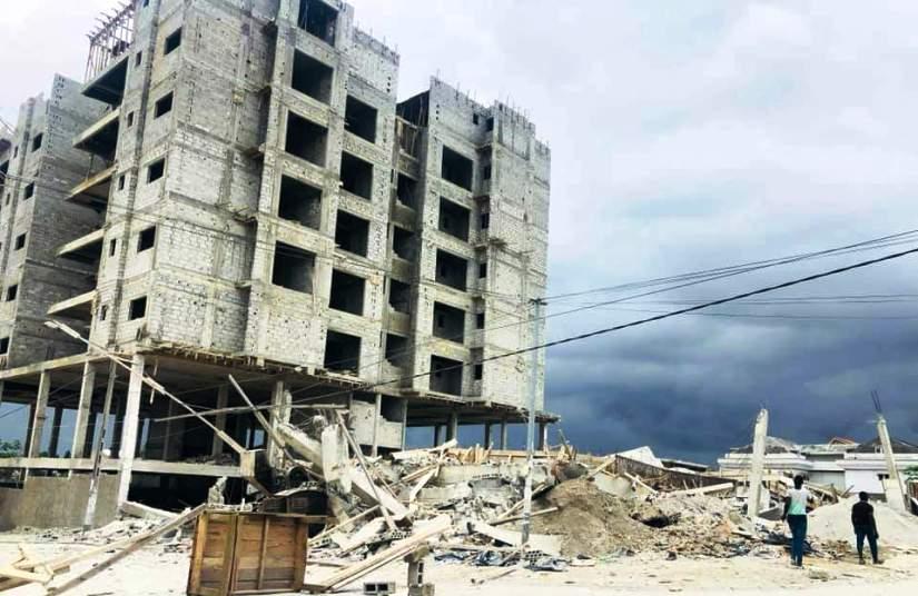 Effondrement d'immeuble,Angré Djibi