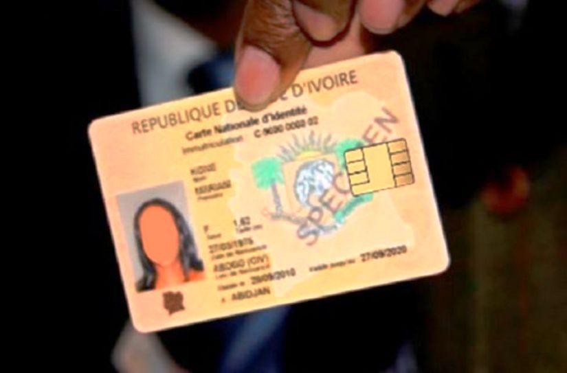 Cni,Identification,Cote d'Ivoire,ONECI)