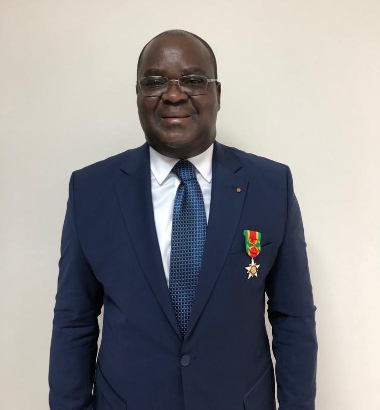 BRVM,Distinction,Ordre du Mono,Togo,pre