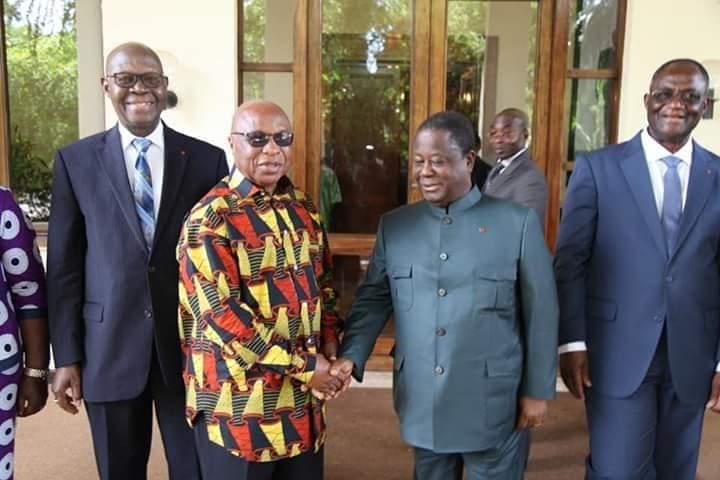 Rencontre Bédié Fpi,Laurent Gbagbo