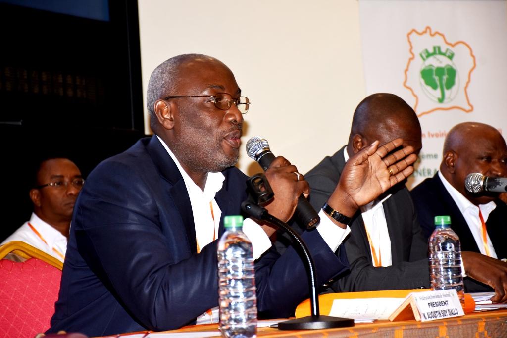 Fédération ivoirienne de football,Sidy Diallo,Me Ouegnin
