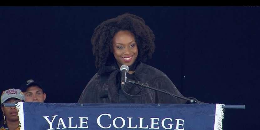 Chimamanda Ngozi Adichie,Université Yale