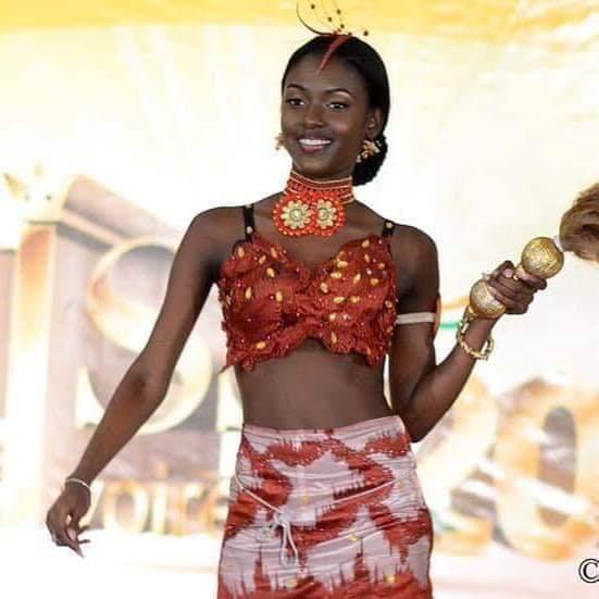 Miss Côte d'Ivoire 2019. Gueye Tara,