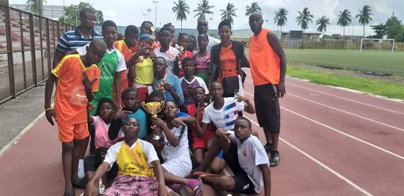 Athlétisme,Championnats dd jeunes,Ta lou,Murielle Ahouré