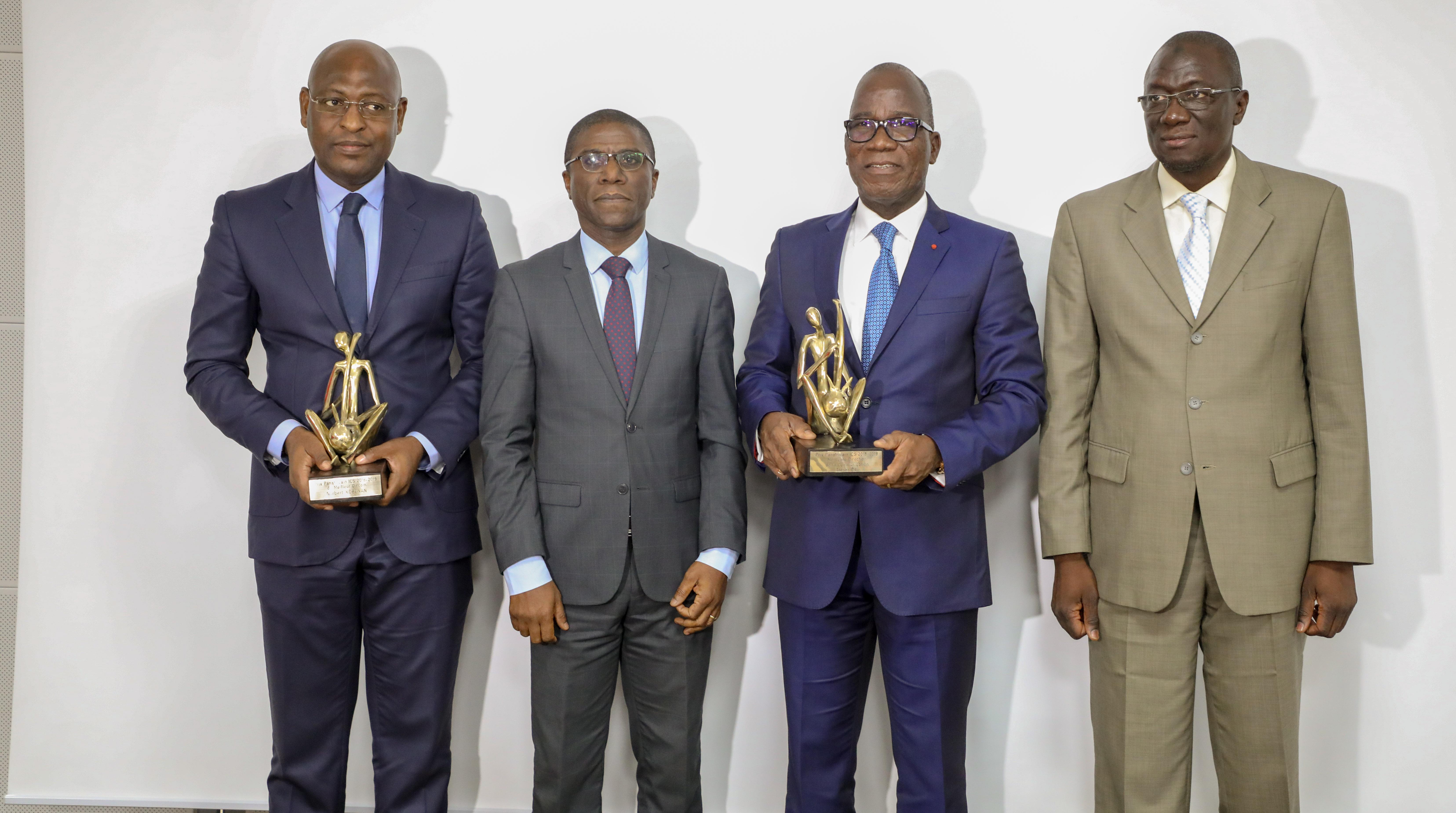 Trésor public,Côte d'Ivoire,prix panafricains