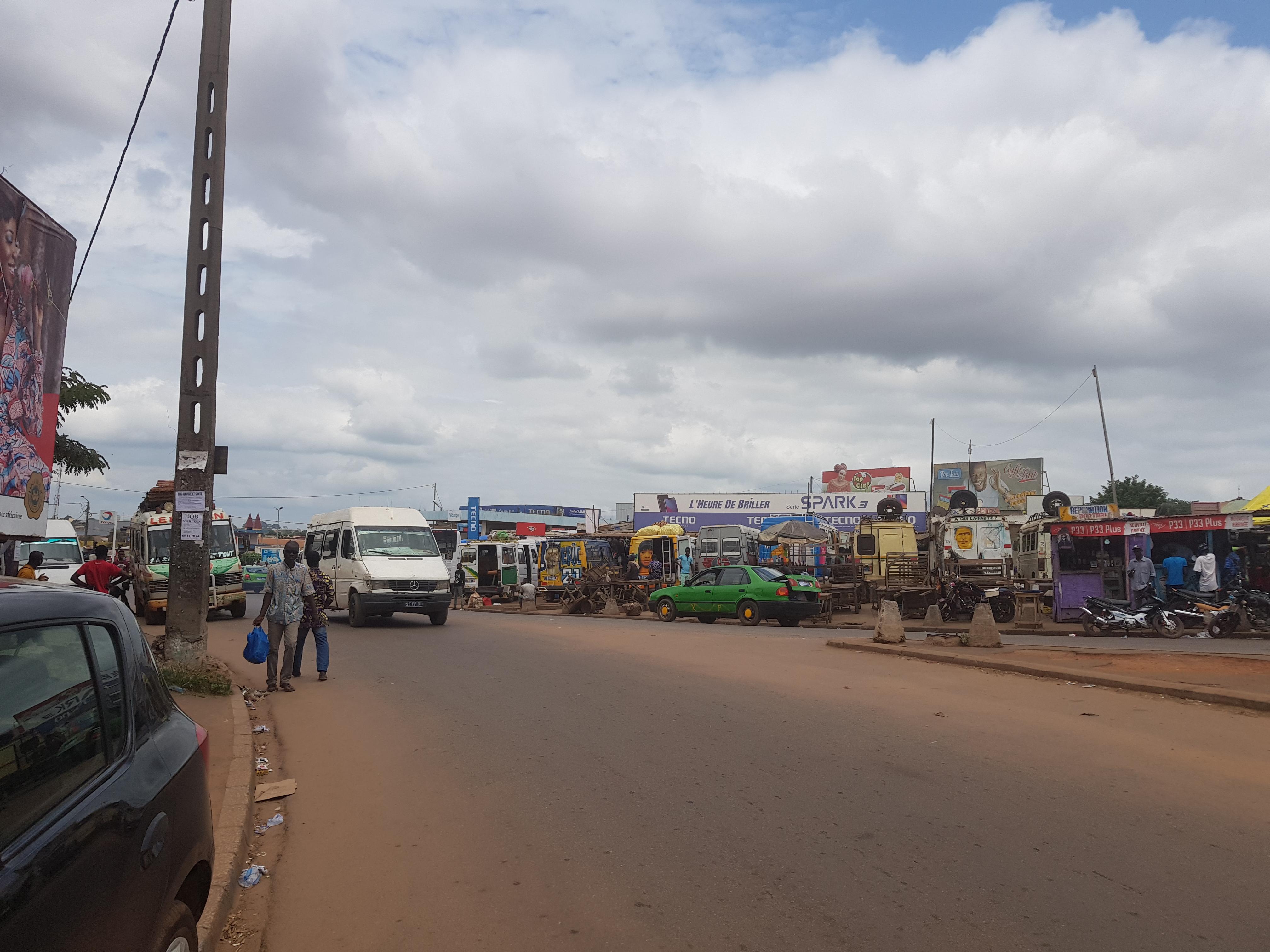 grève taxi de Daloa