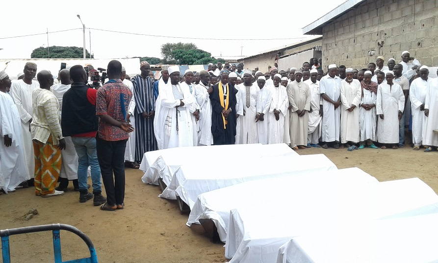 Affrontements à Béoumi,inhumation de corps
