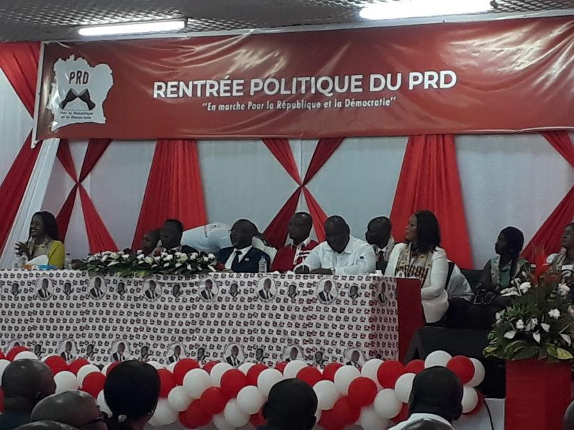 Rentrée  politique,Nouveau parti,PRD