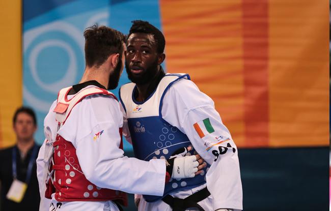 Taekwondo,Cissé Cheick Sallah