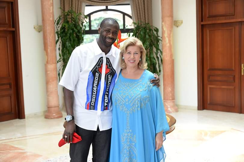 Football,Yaya Touré,Dominique Ouattara