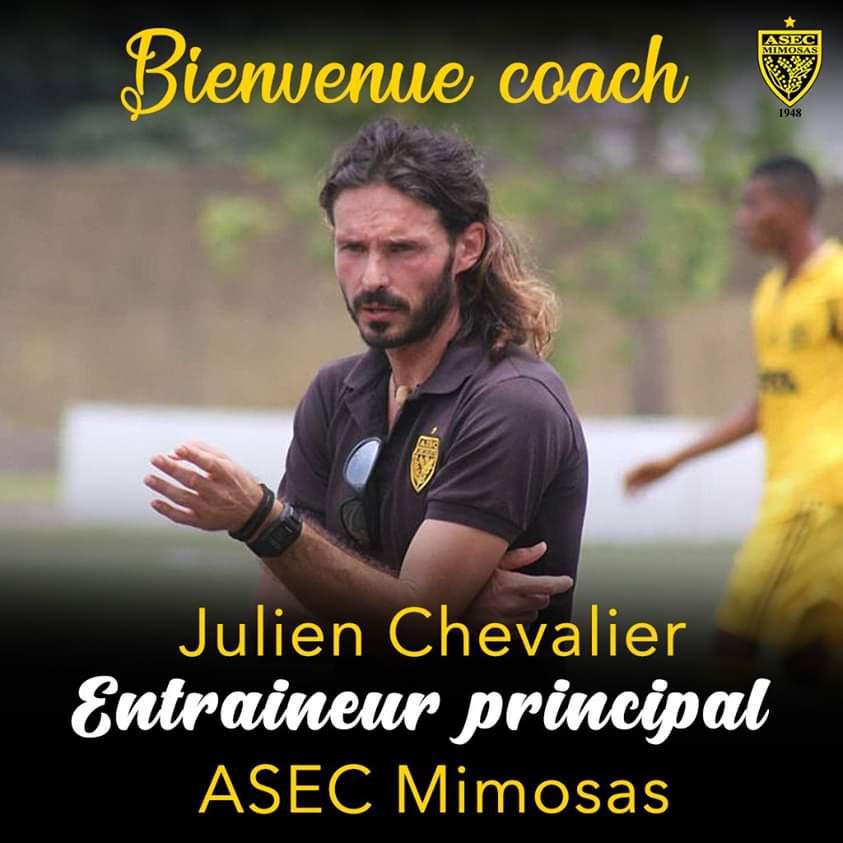 Football,Asec Mimosas,Julen Chevalier