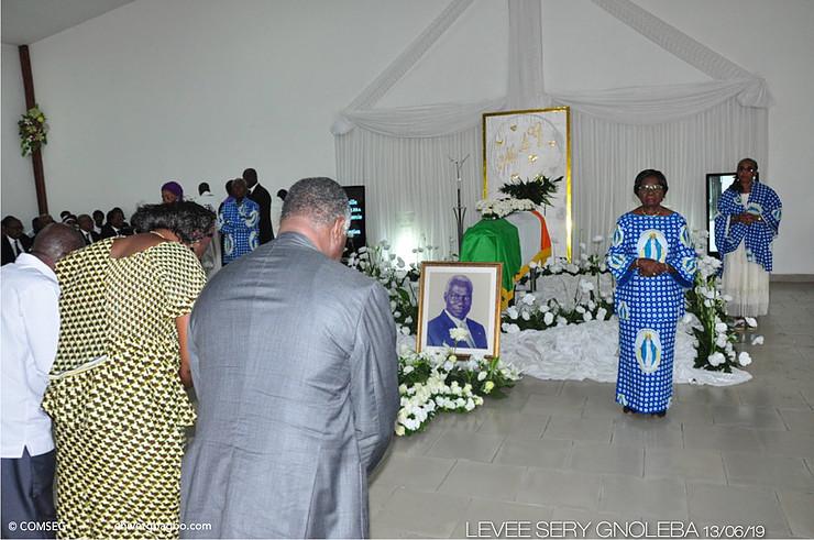 Séri Gnoléba,Levée de corps,Gbagbo