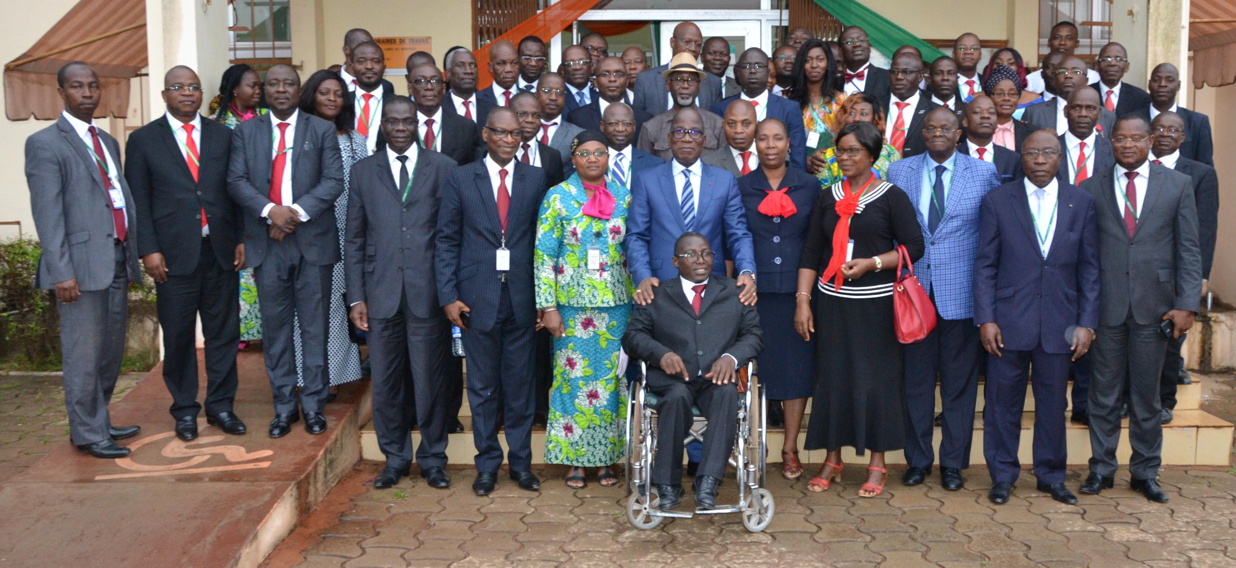 Trésor public,Assahoré Konan Jacques,certification globale