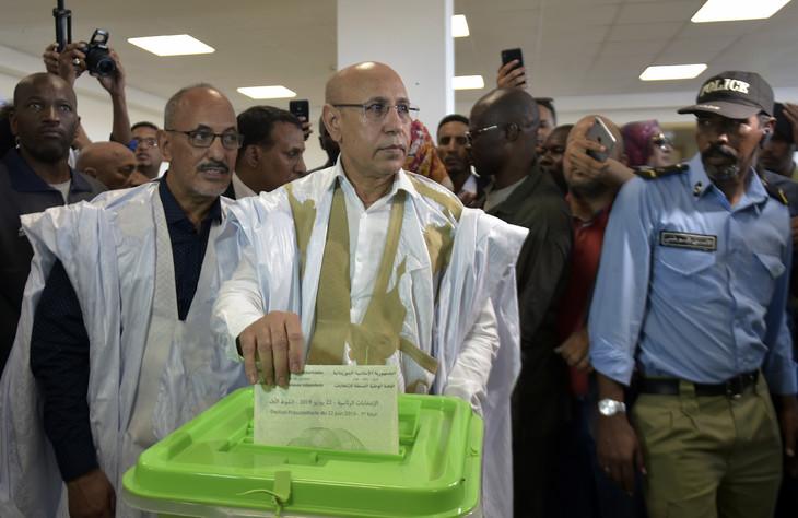 Election presidentieeles en Mauritanie,