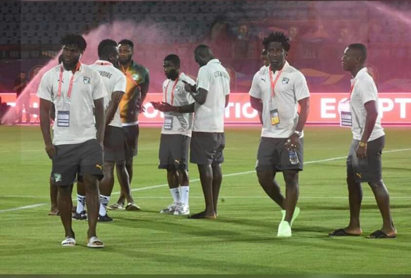 Football,Elephants de Cote d'Ivoire,CAN 2019