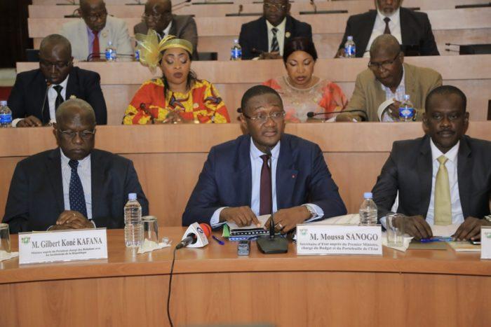 Budget de l'Etat,période 2020-2022,députés,Sanogo Moussa