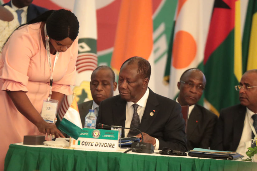 Cedeao,Buhari,Nigéria,Côte d'Ivoire,Alassane Ouattara