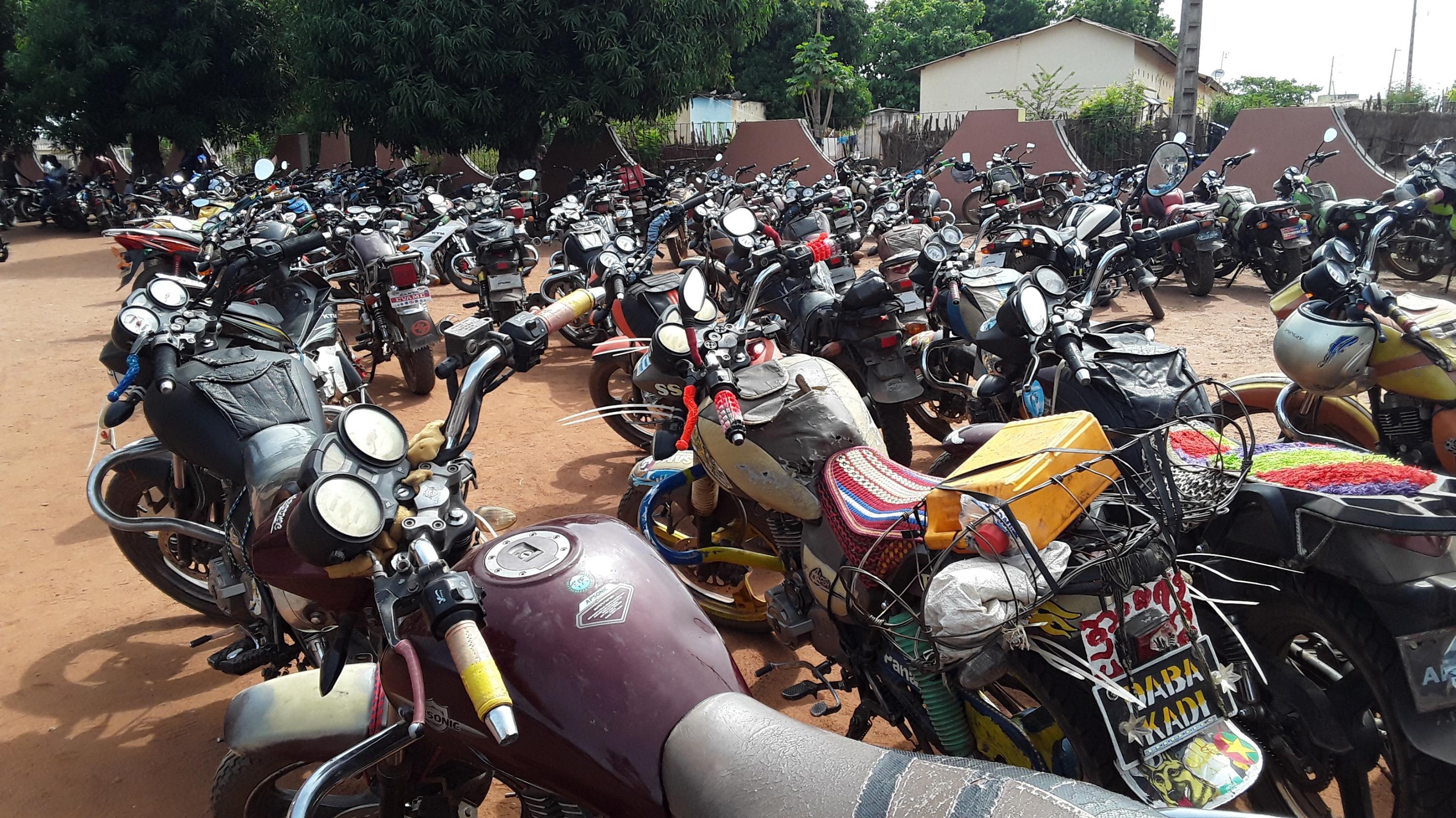 Vol de moto,Bouna,Dah Benjamin