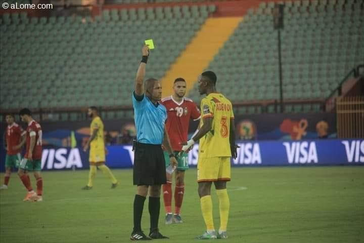 Football,Can 2019,Benin-Maroc,carton rouge