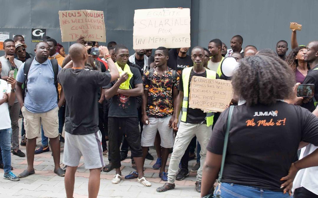 JUMIA Côte d'Ivoire,grève,personnel