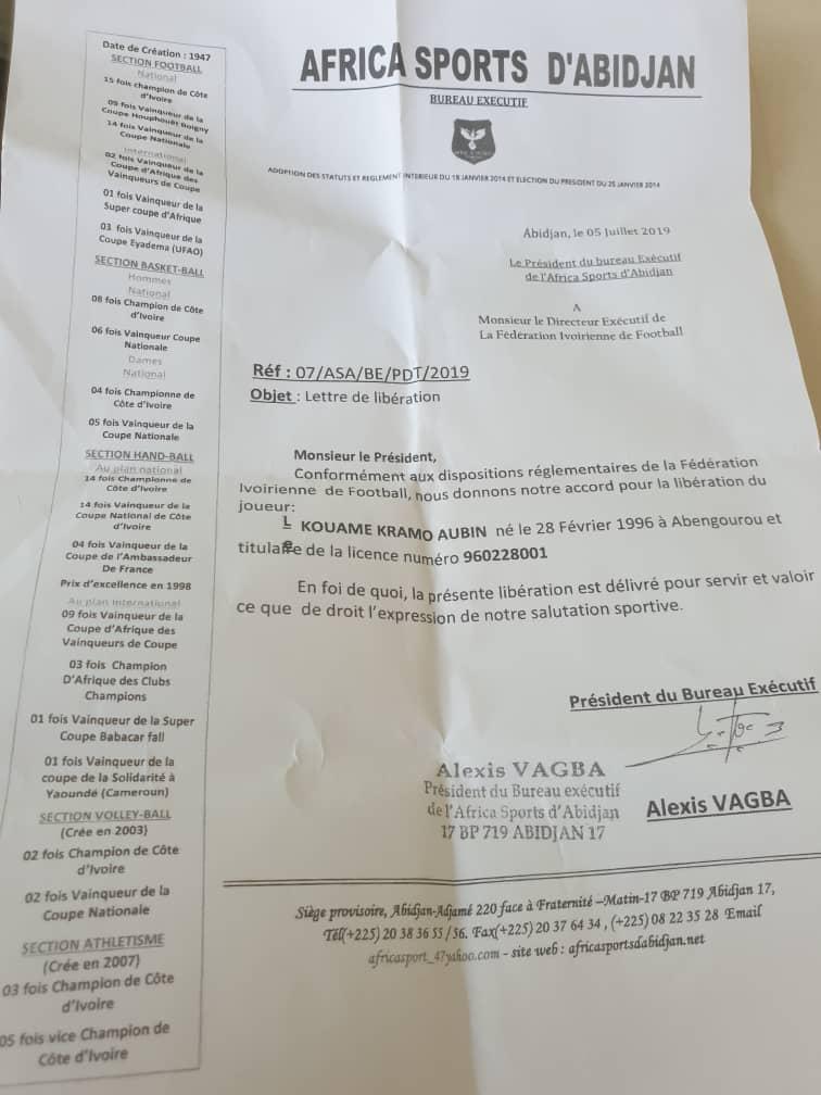 Africa sports,Fédération ivoirienne de football,Alexis Vagba,Antoine Bahi