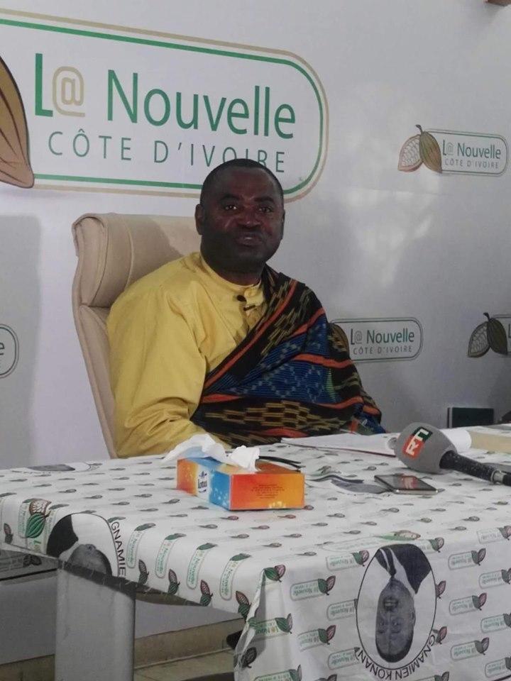 Gnamien Konan,L@ Nouvelle Côte d'Ivoire