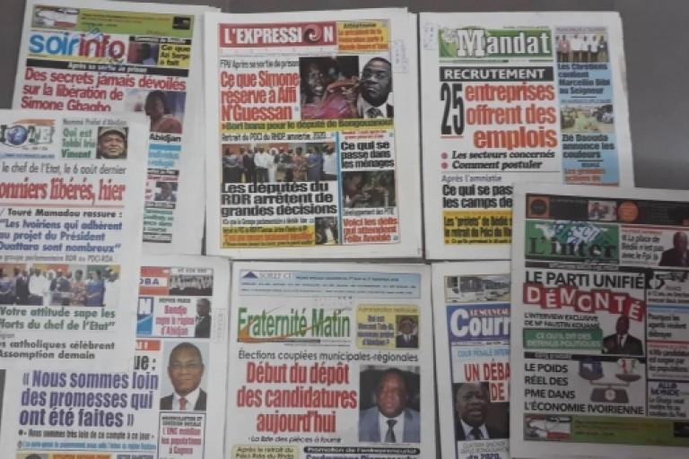 Revue de presse,monnaie unique,Alassane Ouattara,Guillaume Soro