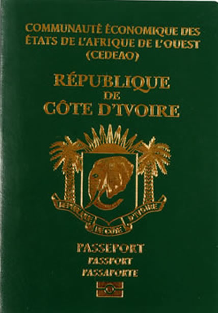 Passeport ivoirien