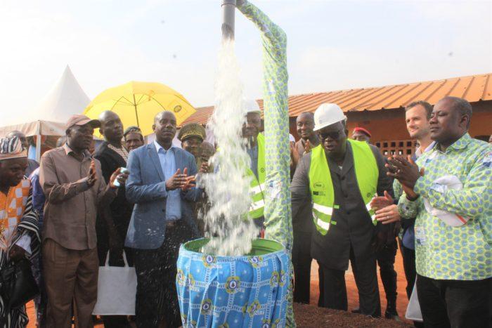 Amadou Gon Coulibaly,Eaux et forets,chateaux d'eau,sodeci,Laurent Tchagba.