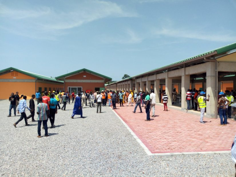 Nouveau marché,Sansandra,Adjoumani