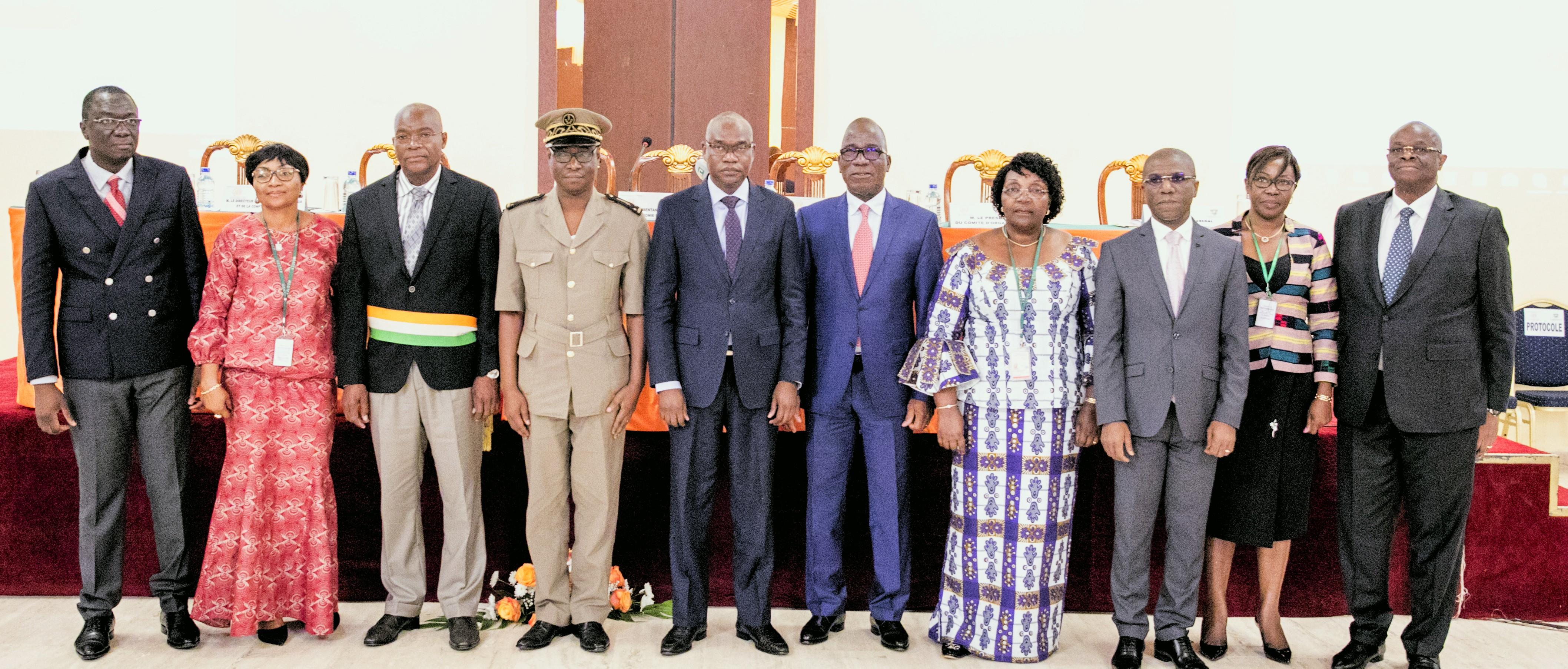 Trésor et Comptabilité publique,657 milliards FCFA,DGTCP,Adama Koné,Assahoré Konan Jacques,revue de  direction