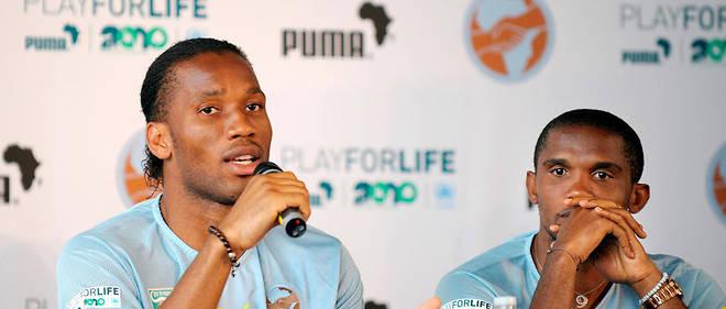 Football,Caf,Samuel Eto'o,Didier Drogba