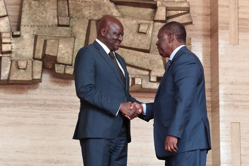 Alassane Ouattata,Guinée Bissau,Côte d'Ivoire,Aristide Gomes