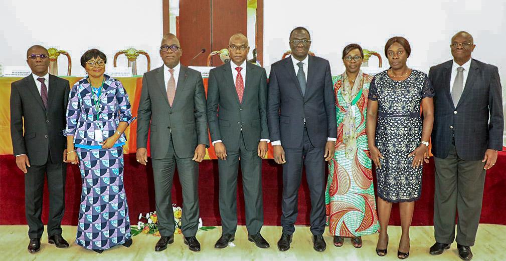 Trésor public,Certification,Revue de direction,Yamoussoukro