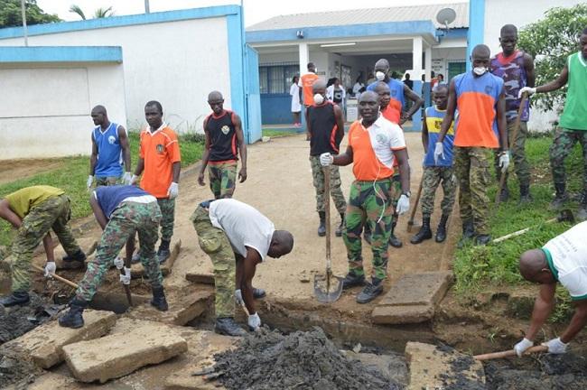 Fête de l'Armée,Gle Doumbia Lassina