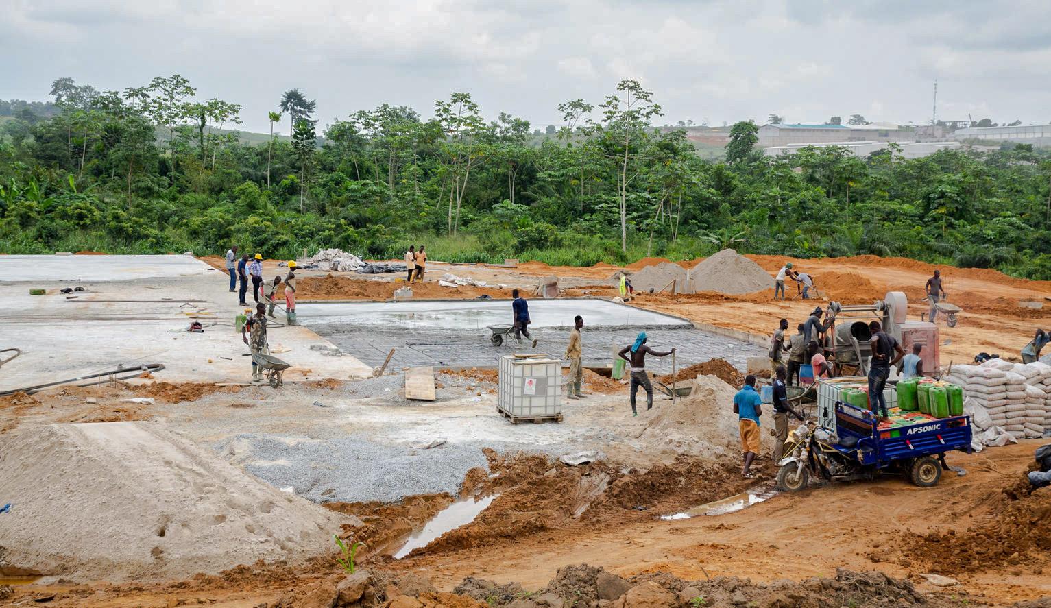 Partenariat UNICEF-Conceptos Plásticos,salles de classe,plastique recyclé