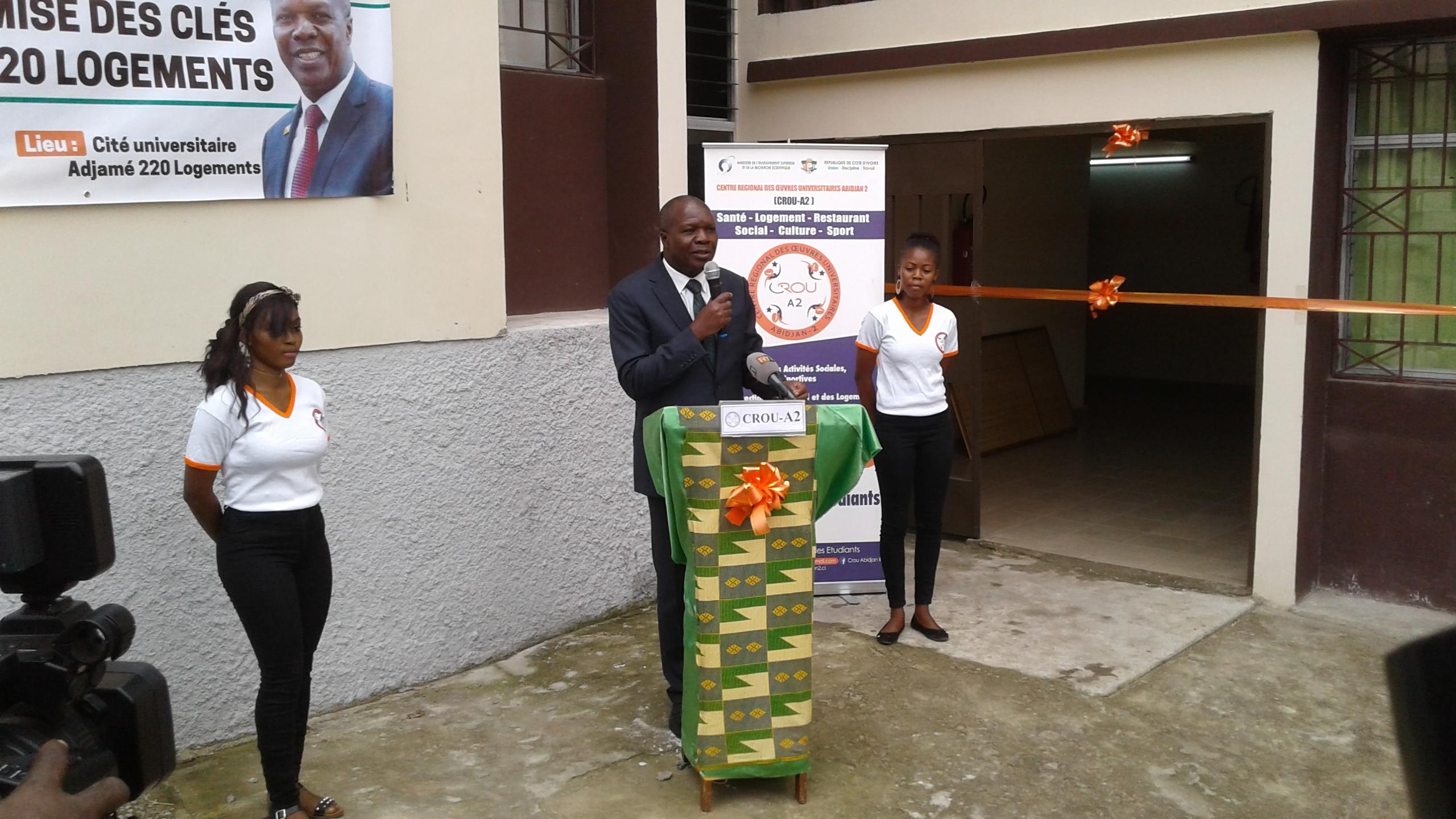 Remise de clés,cité Adjamé 220 Logements,Mabri Toikeusse