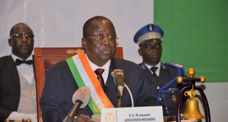 Ahoussou Jeannot,Sénat,CEI