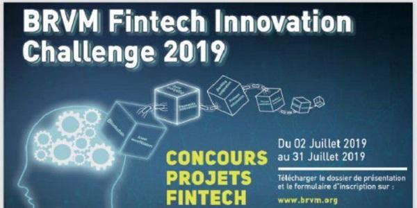 BRVM,BRVM Fintech innovation challenge