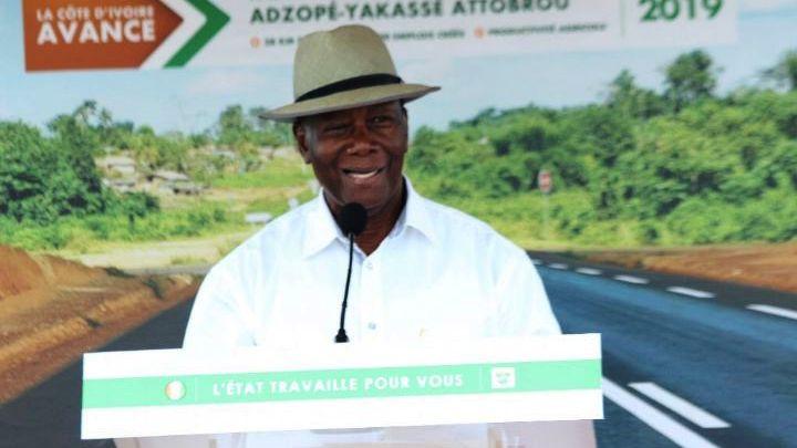 Ouattara,La Mé,président de la République