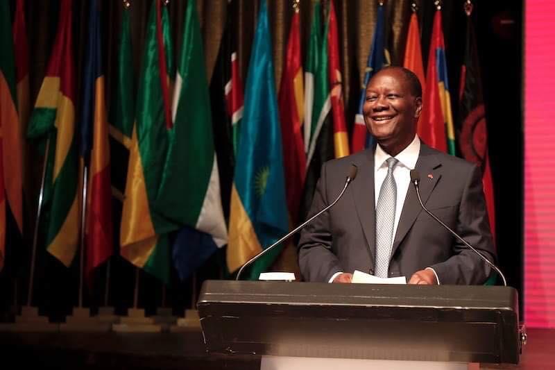 Forum Agoa,Alassane Ouattara