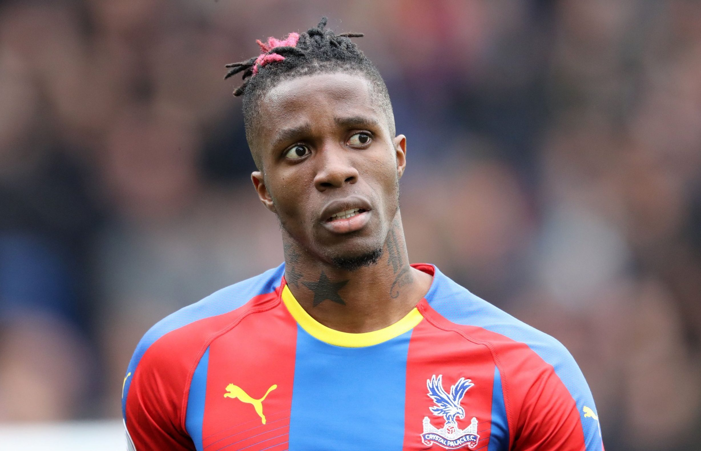 Football,Wilfried Zaha,EVERTON,Crystal Palace