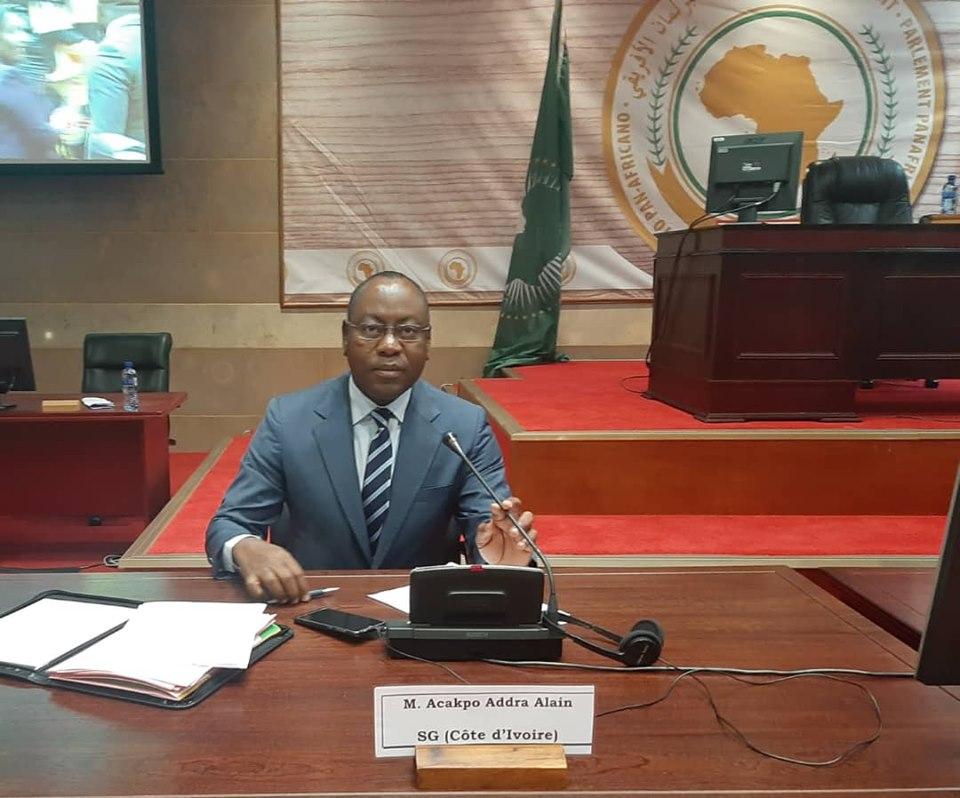 Assemblée nationale,Association des secrétaires,Alain Acakp Addra