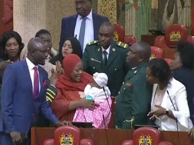 Kenya,députée expulsée,Bébé