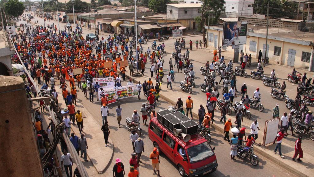 Togo,manifestations publiques