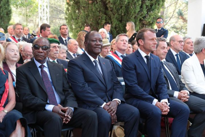 Macron,Ouattara,Anciens combattants