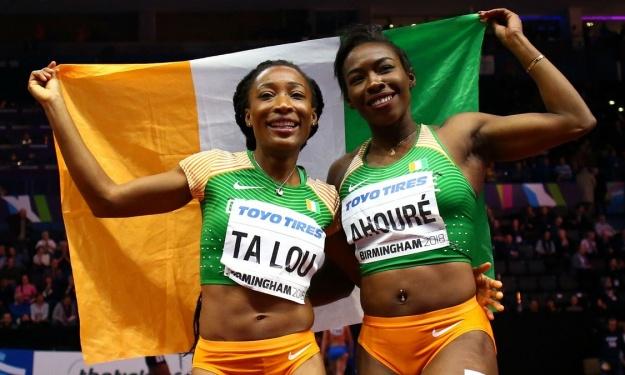 Athlétisme,Ta Lou,Murielle Ahouré