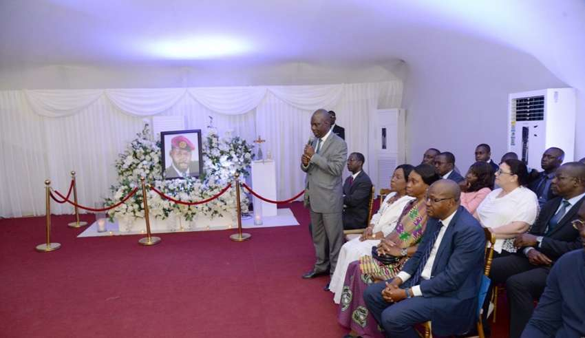 Arafat dj,Obsèque,Dominique'Ouattara